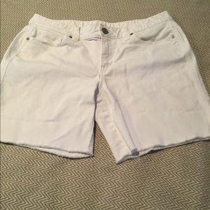 Loft Cut-Off Jeans Shorts